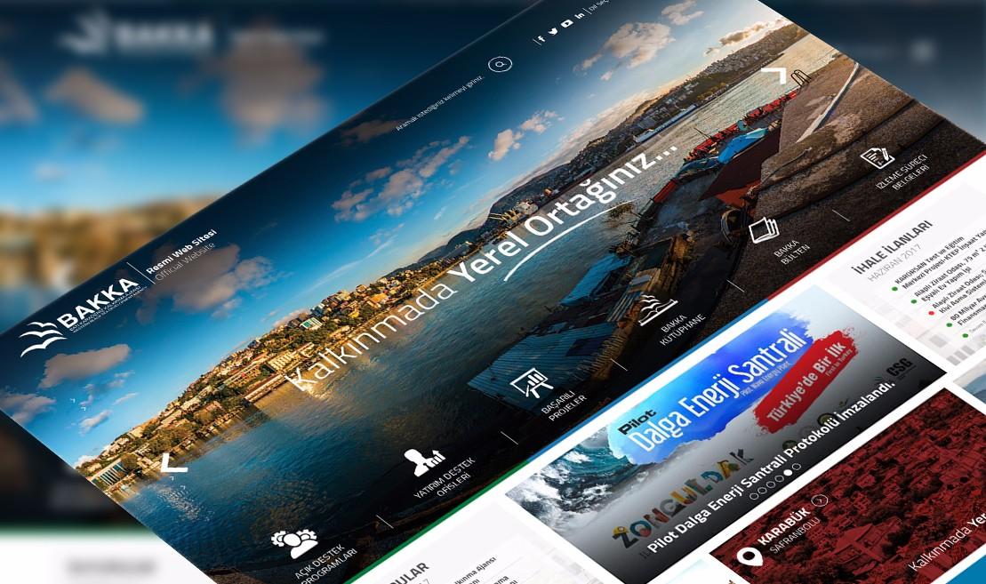 Batı Karadeniz Development Agency Web Tasarım Projesi